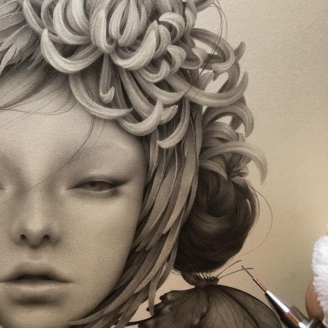 Японская художница Озабу! Рисунки, которые впечатляют!, фото № 2
