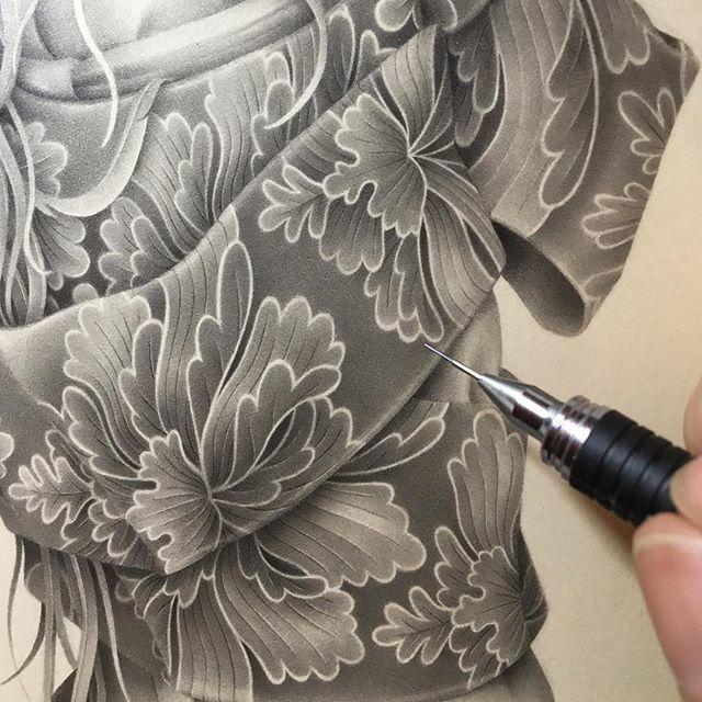 Японская художница Озабу! Рисунки, которые впечатляют!, фото № 3