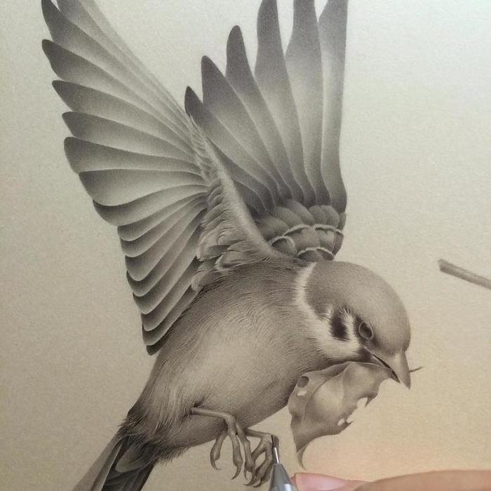 Японская художница Озабу! Рисунки, которые впечатляют!, фото № 6