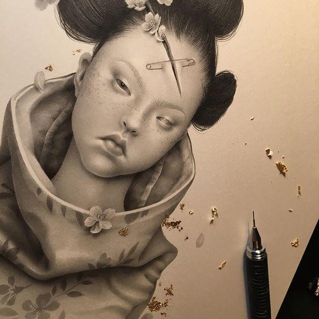 Японская художница Озабу! Рисунки, которые впечатляют!, фото № 7