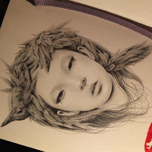Японская художница Озабу! Рисунки, которые впечатляют!, фото № 8