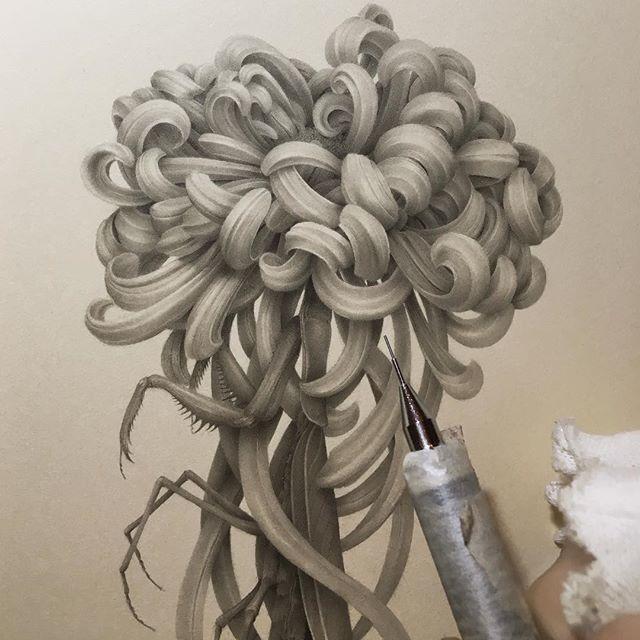 Японская художница Озабу! Рисунки, которые впечатляют!, фото № 10