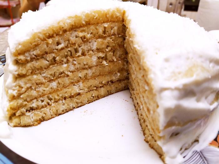 Нежный манный торт без выпечки в духовке - вкуснее любого бисквита. Фото и видео