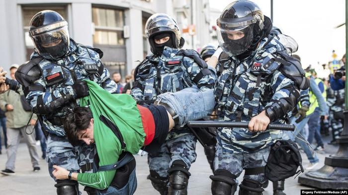 Задержание в Москве