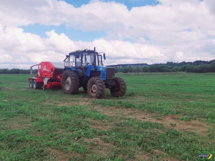 Российский фермер честно про белорусские тракторы