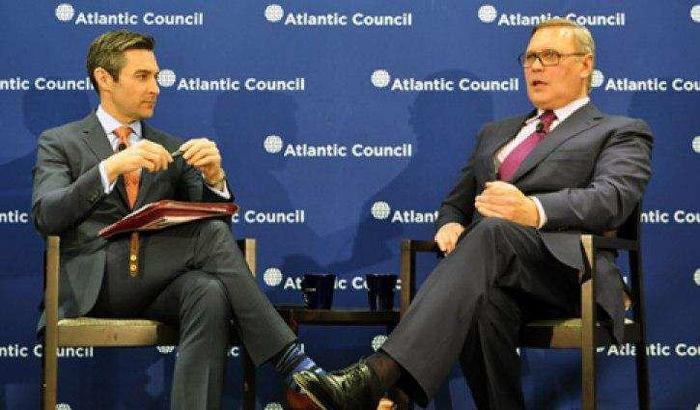 На Атлантическом совете