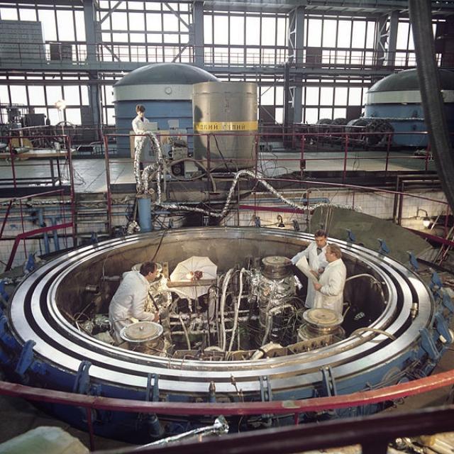 Институт атомной энергии имени И.В. Курчатова. 1986
