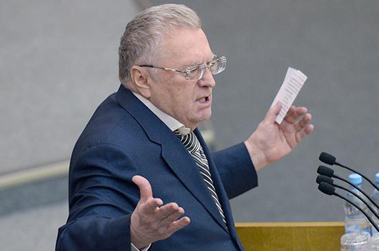 Жириновский заявил об уходе из политики