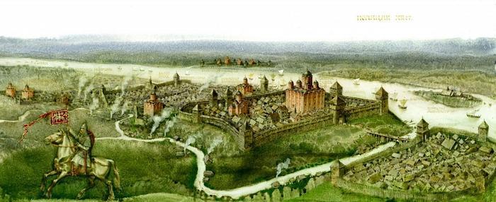 Полоцк в XII веке