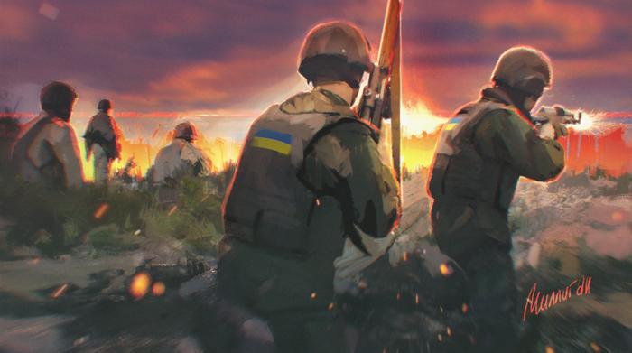 ВС Украины в Донбассе