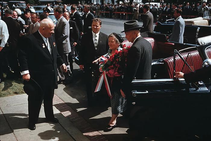 Визит Хрущёва в США В 1959
