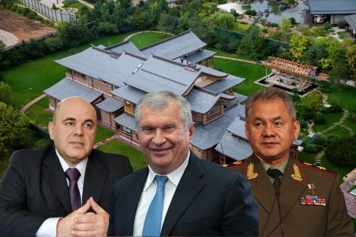 Пока Путин хотел запретить загран-недвижимость, Росреестр скрыл имущество Шойгу, Мишустина и Сечина. Показываю возможные их дома