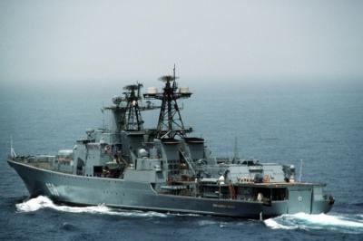 Как российские моряки украинских контрабандистов спасли