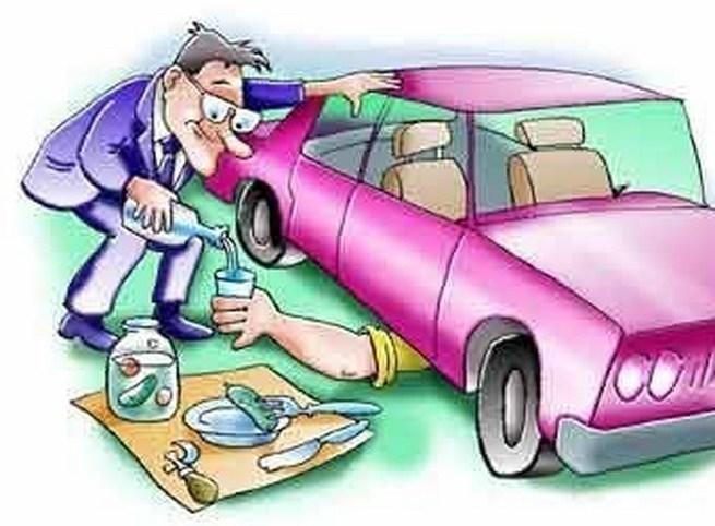 Автомобили ремонт прикольные картинки, открытки большие