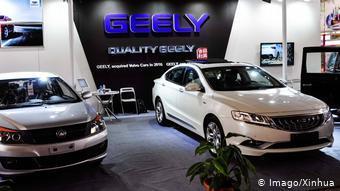 Китайские автомобили Geely
