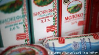 Молочные продукты из Беларуси