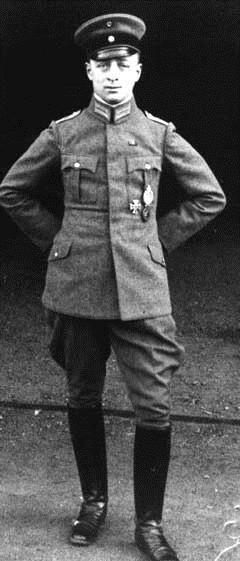 Еврейский ас летчик-истребитель лейтенант Вилли Розенштейн