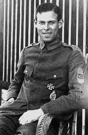 Кавалер «Железного креста» лейтенант Фридрих Рюденберг