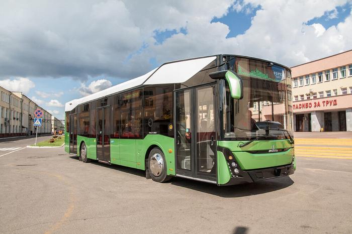 Где будет возить пассажиров новый автобус МАЗ? Фото naviny/by