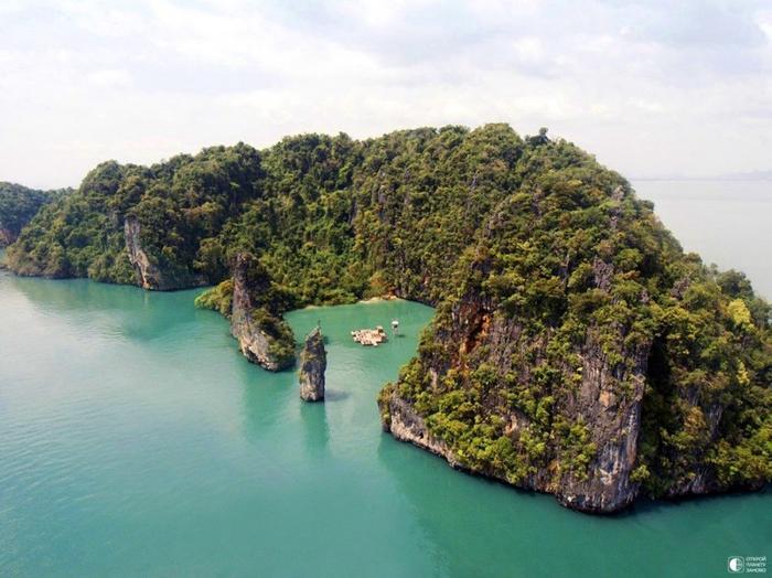 Плавающий кинотеатр в Таиланде 4