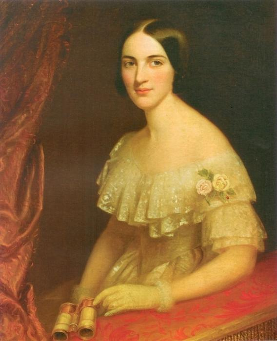 Екатерина Дантес (Гончарова) - супруга убийцы Пушкина и мать его детей.