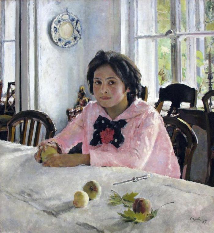 Покрову, смешная картинка девочка с персиками