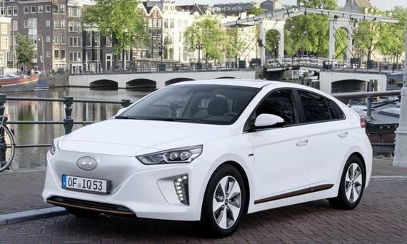 Электромобиль Hyundai Ioniq Electric 2017 / Хендай Ионик 2017