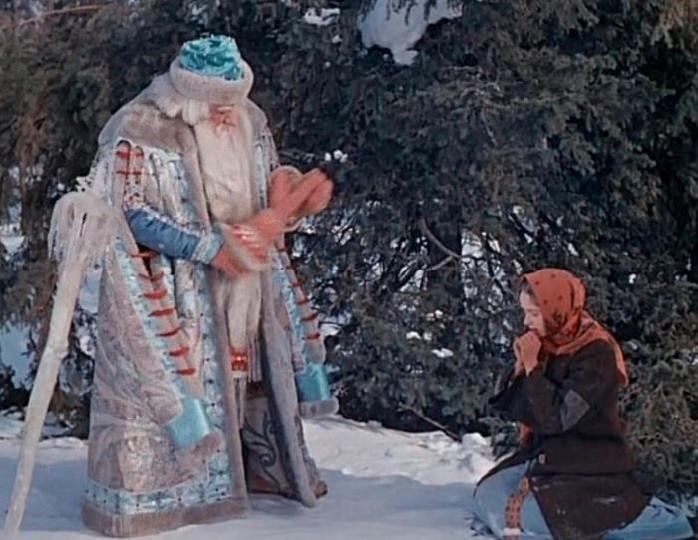 Кадр из фильма «Морозко», 1965 г.