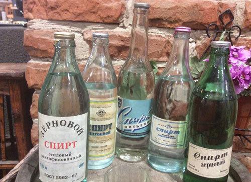 Классификация водочных спиртов