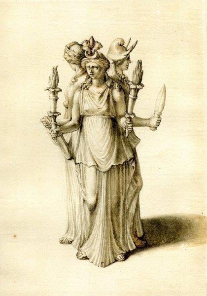 Три лика богини