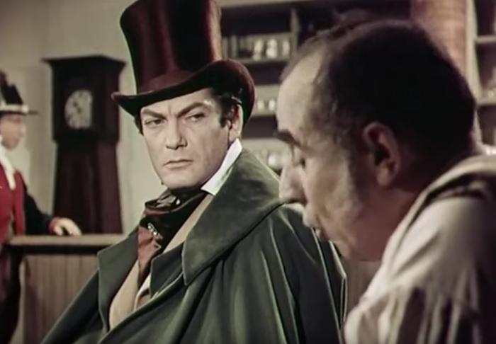 Жан Марэ сыграл графа Монте-Кристо (прототипом которого был Франсуа Пико), кадр из фильма