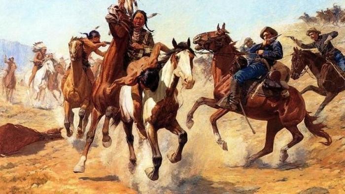 Из истории индейских войн: важнейшие сражения племен Великих равнин против белых