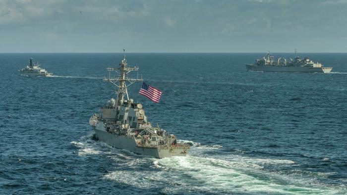 ВМС НАТО в Черном море. Источник изображения: https://tehnowar.ru/