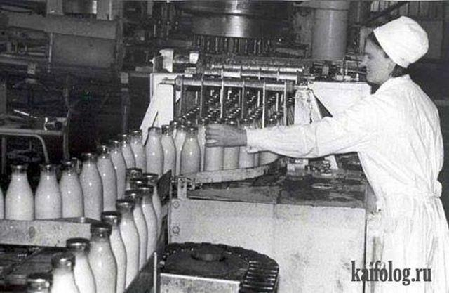 Принципиальное отличие нынешней молочки от советской