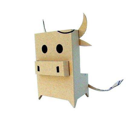 Как сделать своими руками?  Поделки из упаковочного картона (14 фото) - Собака - мир спасака!