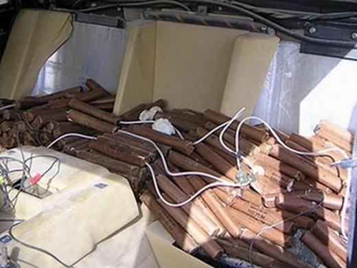 Одной из машин владел Удай Хуссейн, сын Хусейна. . Его машину в 2004 году