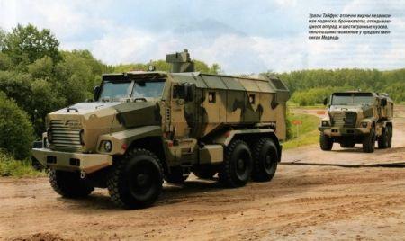 Российской военной автотехники