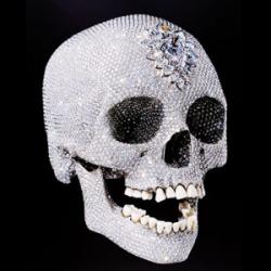 Инкрустированный бриллиантами череп покажут в Петербурге