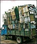 Куда девается электронный мусор