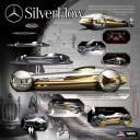 Mercedes-Benz SilverFlow - машина из жидкого металла