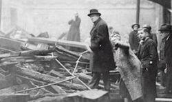 Черчиль спланировал бомбежки лондонских евреев