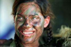 У войны женское лицо (фото)