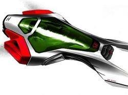 Автомобиль через 50 лет - по версии Honda