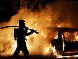 Беспорядки в Европе: горят автомобили