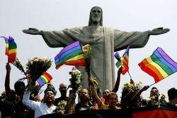 Гей-парад по-бразильски (фото)
