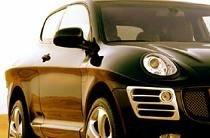 Двухдверный Porsche Cayenne - DC STAR