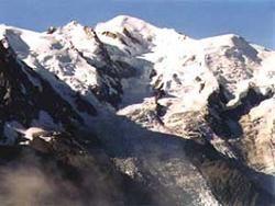 Гора Монблан увеличилась за два года по высоте и по массе