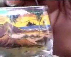 Sand art – новый вид искусства рисунка из песка (видео)