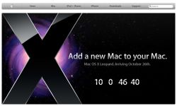 До выпуска новой Mac OS X Leopard осталось 10 дней