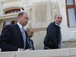 Резиденцию перестраивают после отъезда Путина
